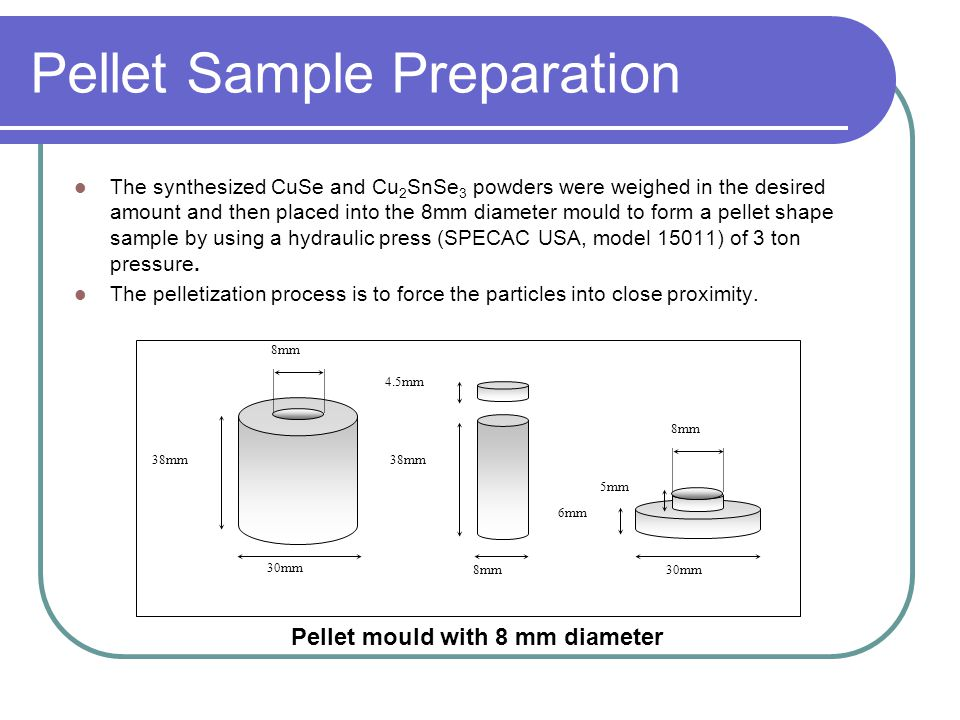 Pellet Sample Preparation