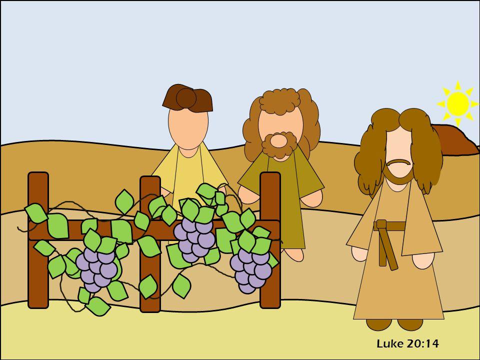 Luke 20:14