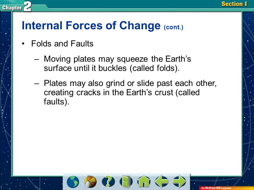 Internal Forces of Change (cont.)