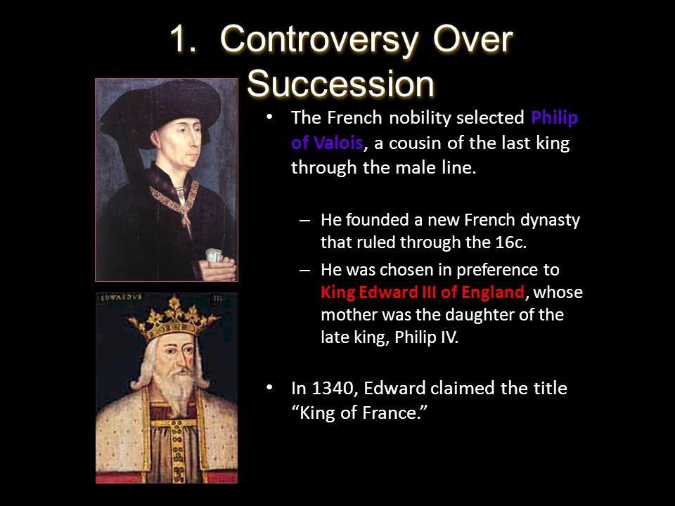 1. Controversy Over Succession