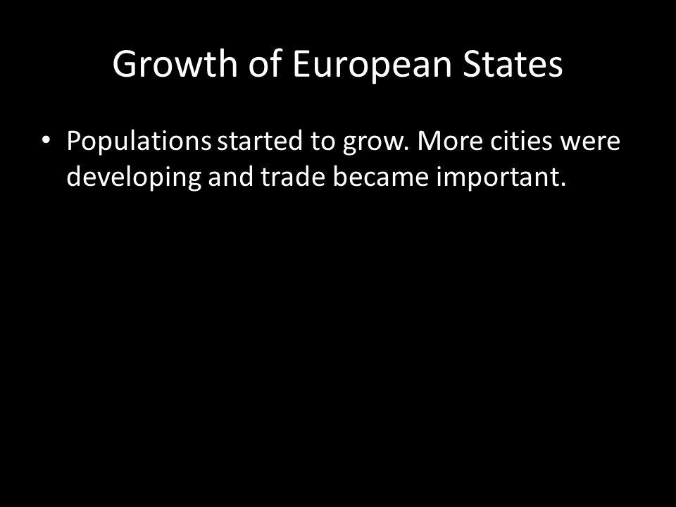 Growth of European States