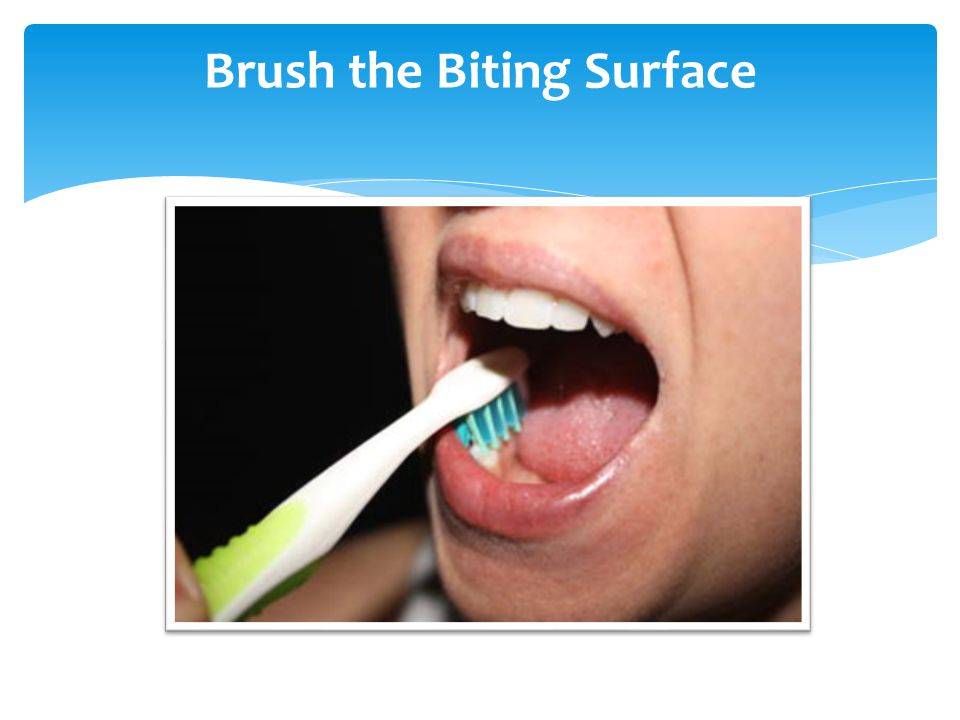Brush the Biting Surface