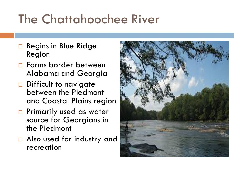 The Chattahoochee River