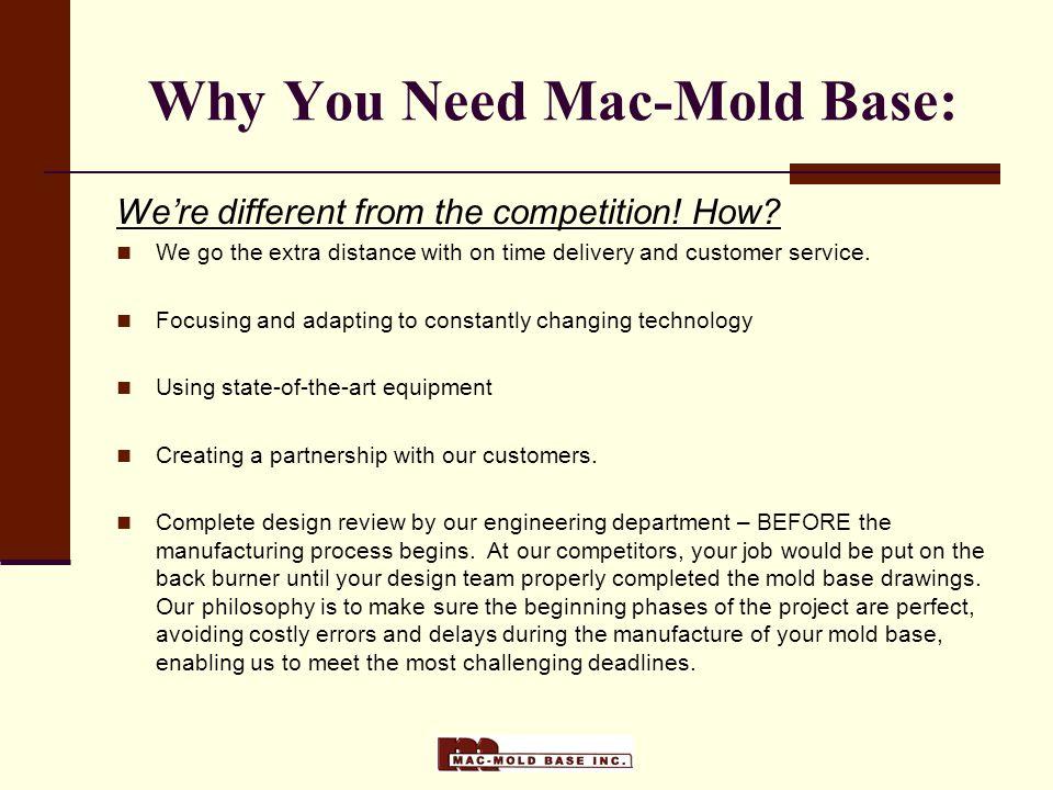 Why You Need Mac-Mold Base: