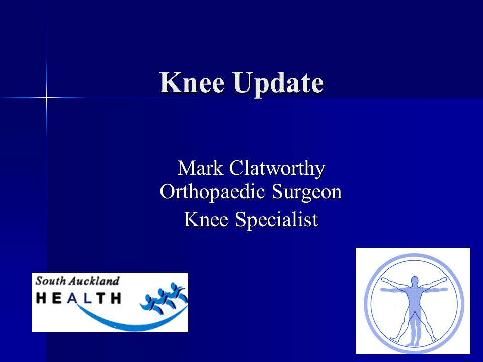 Mark Clatworthy Orthopaedic Surgeon Knee Specialist