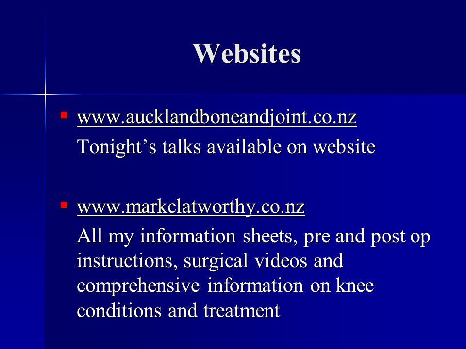 Websites www.aucklandboneandjoint.co.nz
