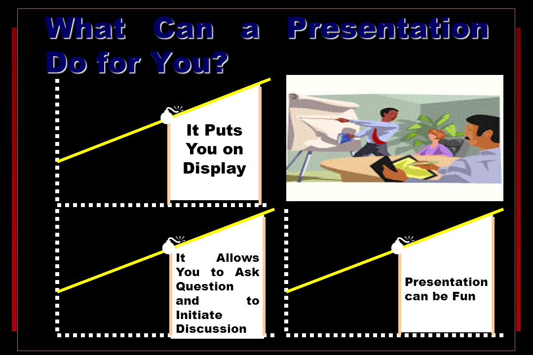 What Can a Presentation Do for You