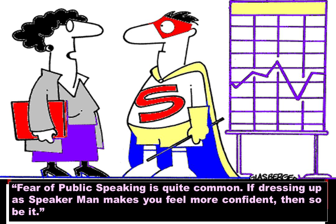Fear of Public Speaking is quite common