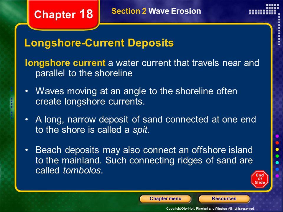 Longshore-Current Deposits