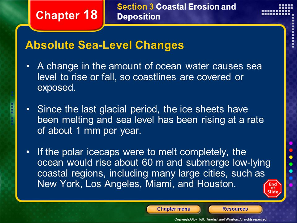 Absolute Sea-Level Changes
