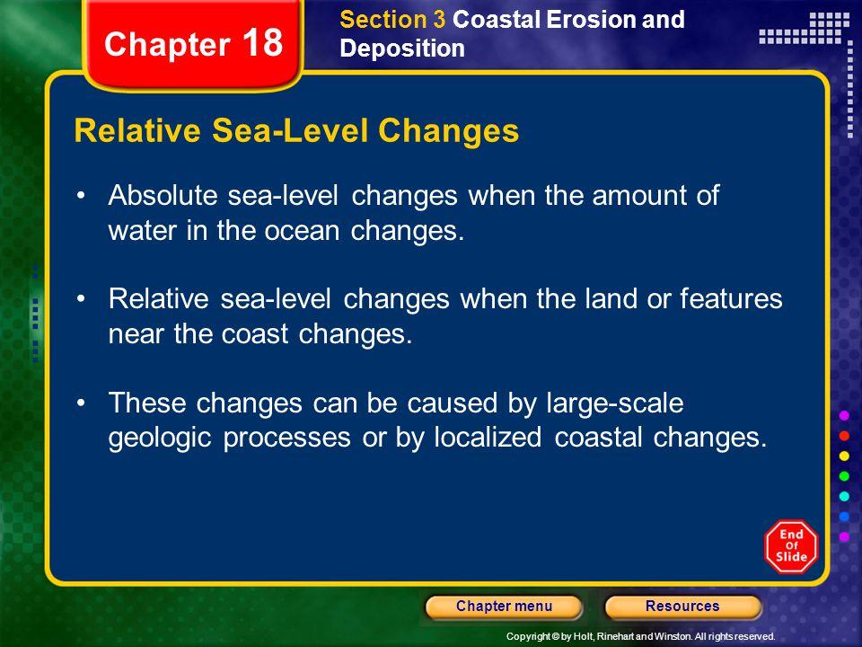 Relative Sea-Level Changes