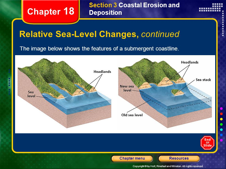 Relative Sea-Level Changes, continued