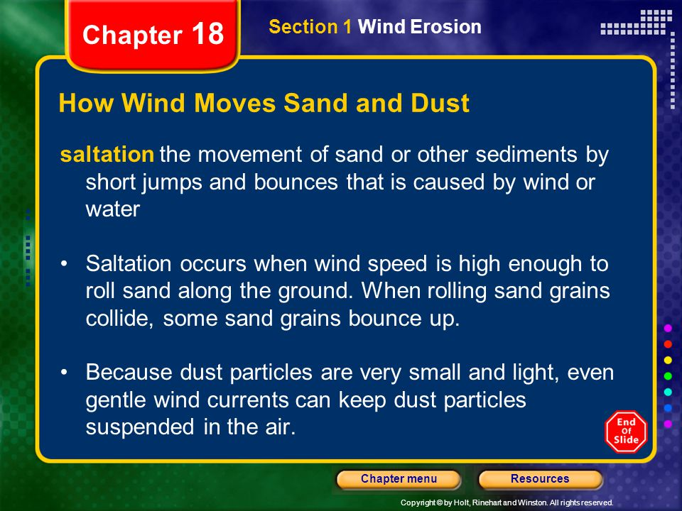 How Wind Moves Sand and Dust