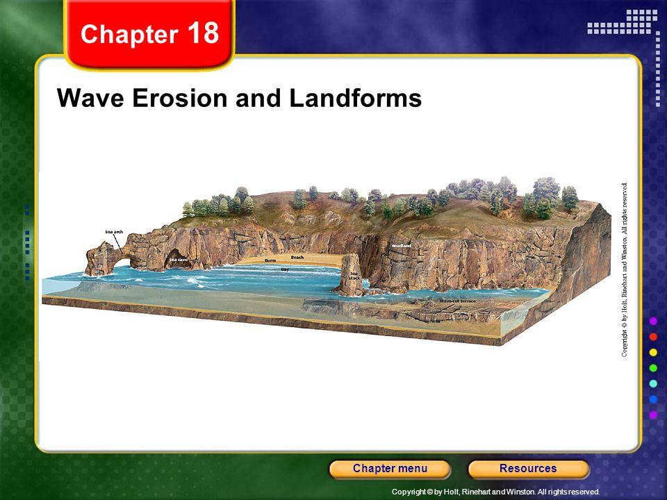 Wave Erosion and Landforms
