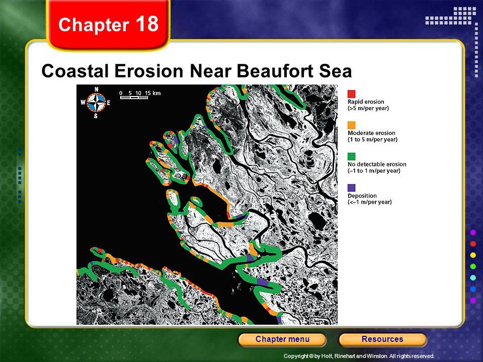 Coastal Erosion Near Beaufort Sea