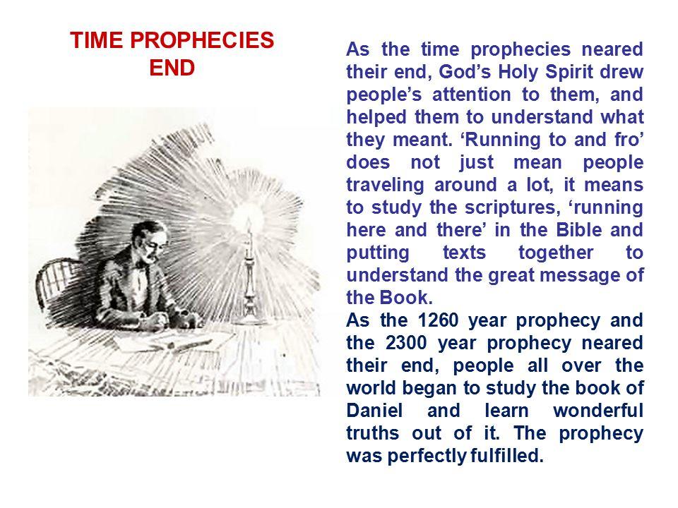 TIME PROPHECIES END