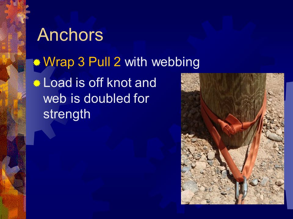 Anchors Wrap 3 Pull 2 with webbing