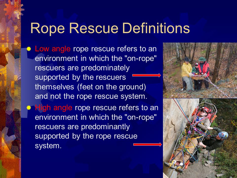 Rope Rescue Definitions