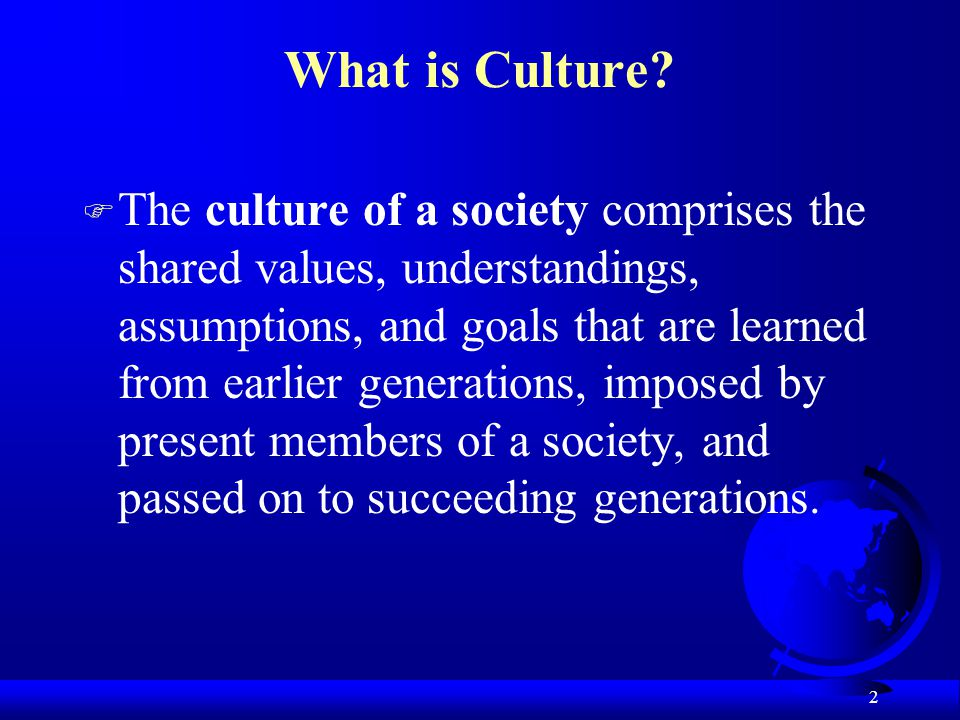 the role of culture How culture affects human behaviour by babla member on (some say for the lack of sunlight) and in countries with a strict and stern culture, as some eastern ones, than in southern ones by the way, apart from the weather, the culture you belong to has a prominent role in how you interact.