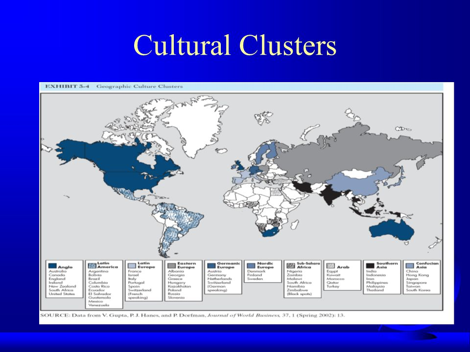 Cultural Clusters