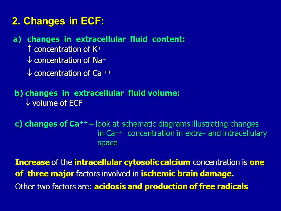 b) changes in extracellular fluid volume: