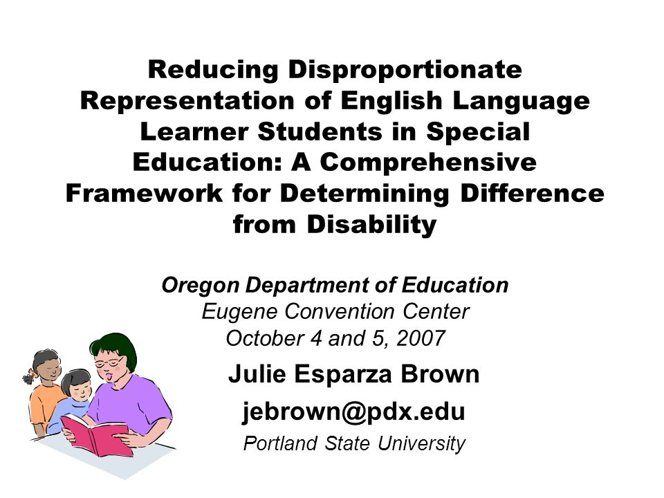 Julie Esparza Brown jebrown@pdx.edu Portland State University