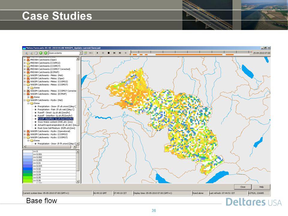 Case Studies Base flow