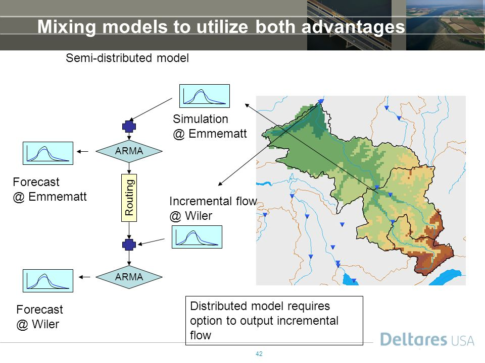 Mixing models to utilize both advantages
