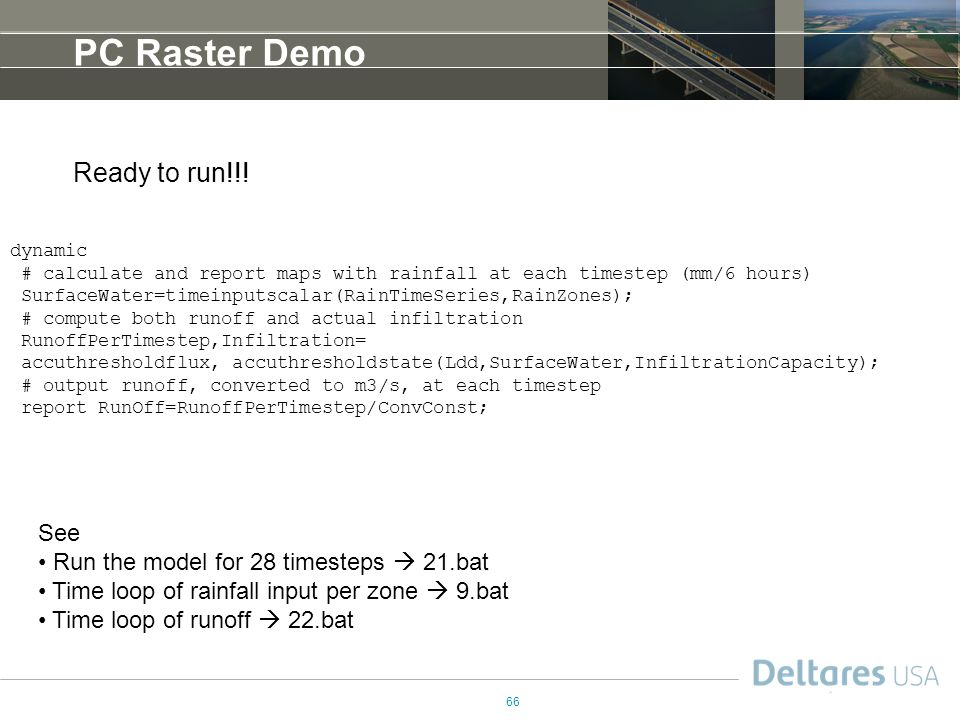 PC Raster Demo Ready to run!!! See