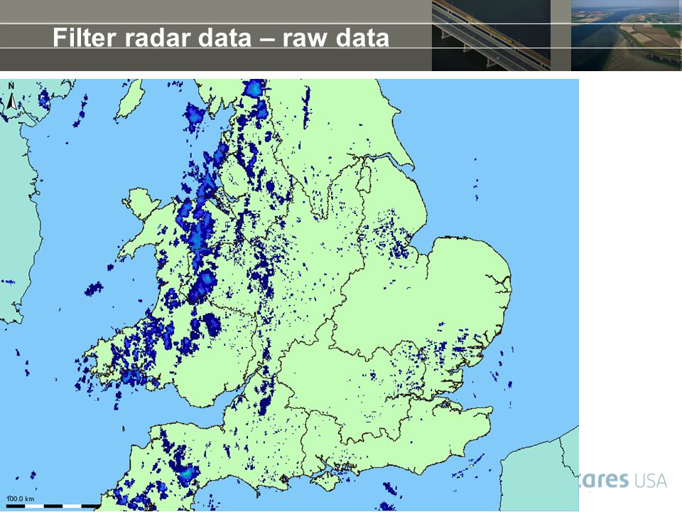 Filter radar data – raw data
