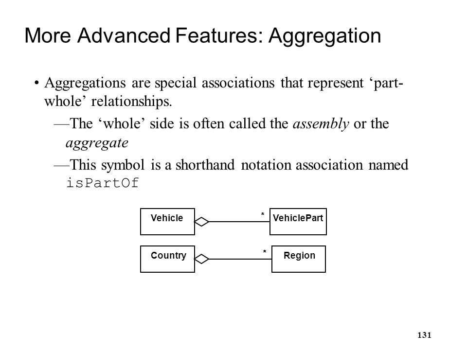 More Advanced Features: Aggregation