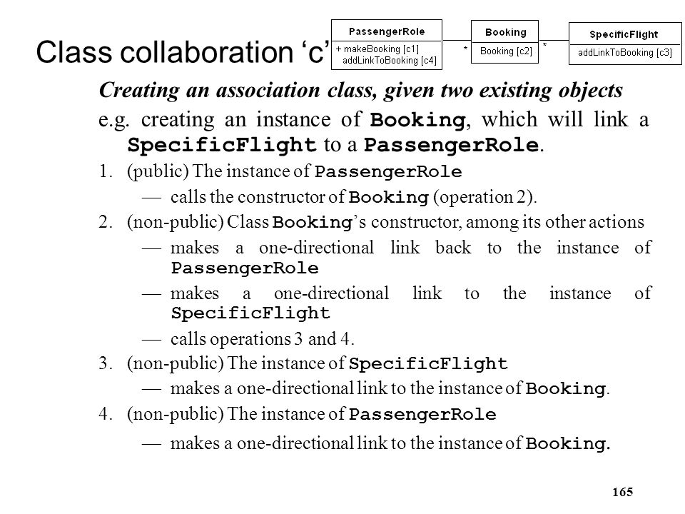 Class collaboration 'c'