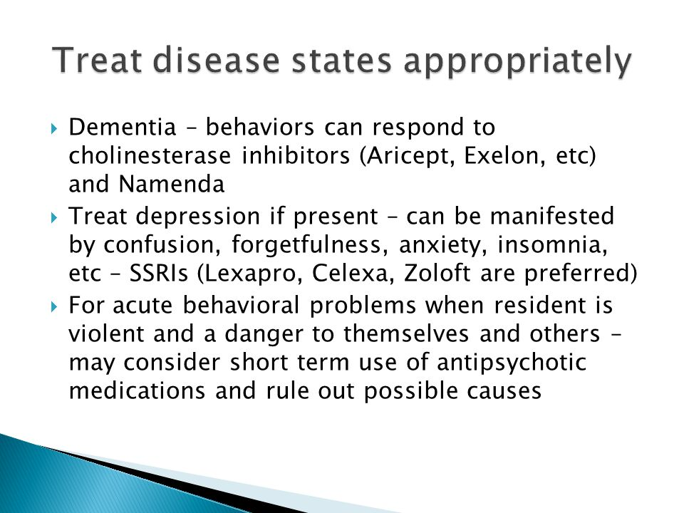 Treat disease states appropriately