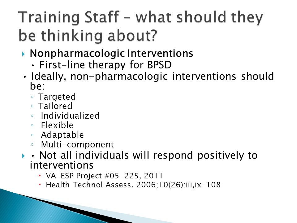 Training Staff – what should they be thinking about