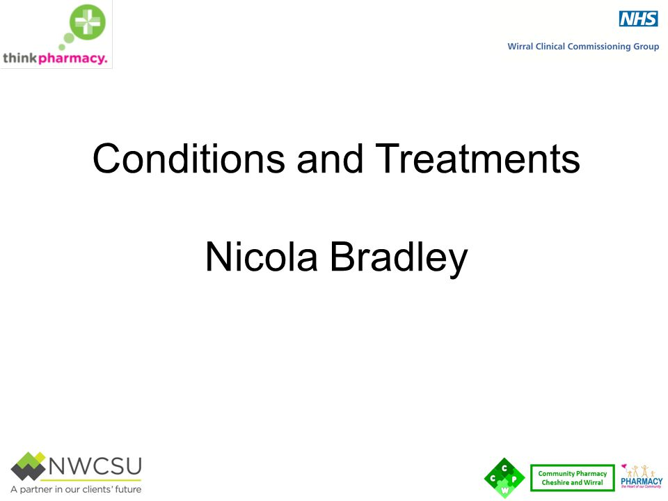 Conditions and Treatments