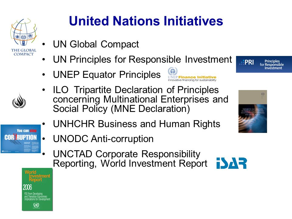 United Nations Initiatives
