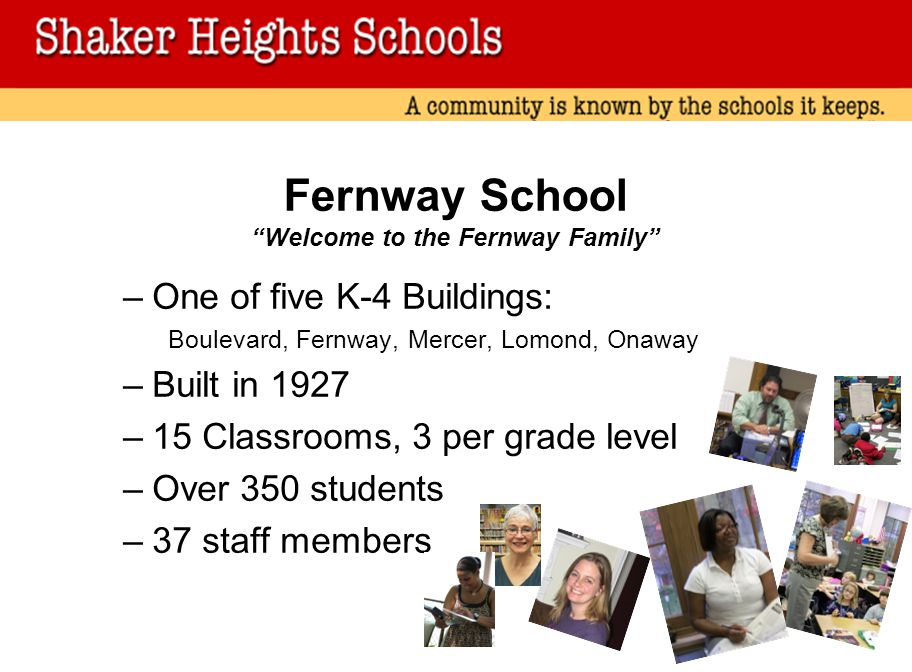 Fernway School Welcome to the Fernway Family