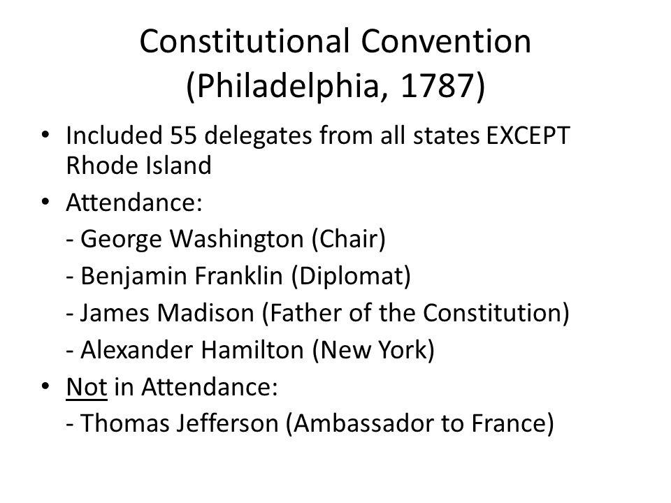 Constitutional Convention (Philadelphia, 1787)