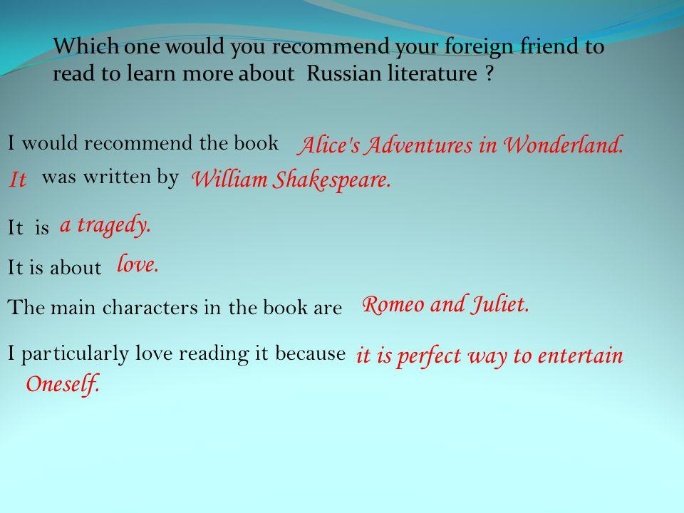 Alice s Adventures in Wonderland. It William Shakespeare.