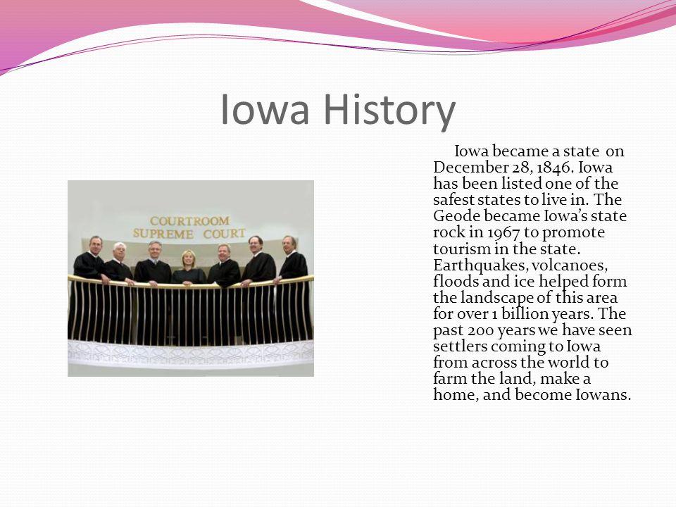 Iowa History