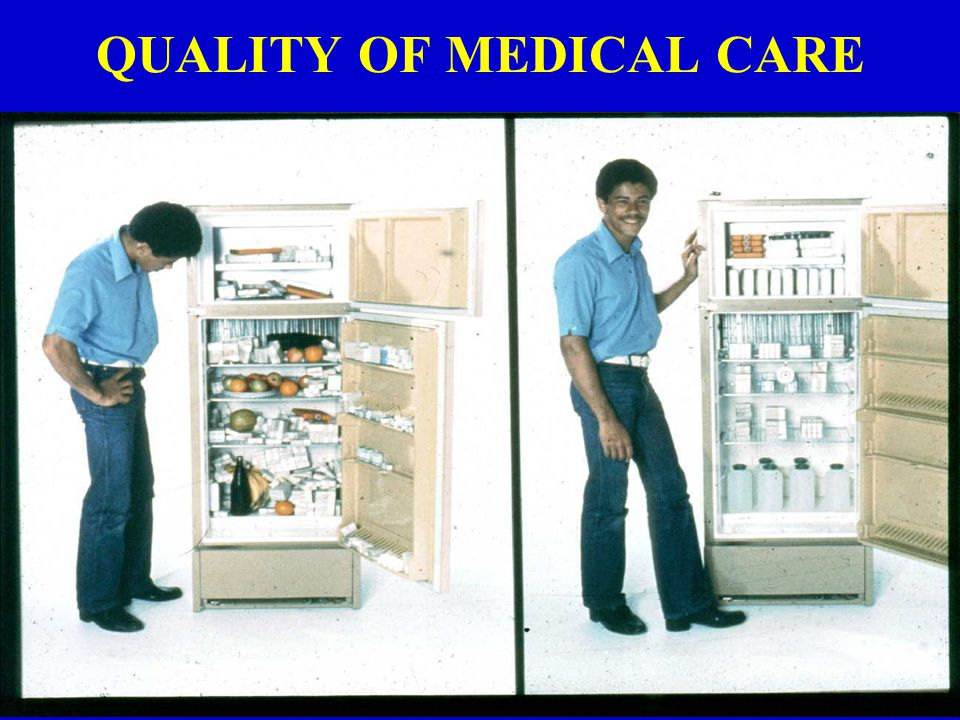 QUALITY OF MEDICAL CARE