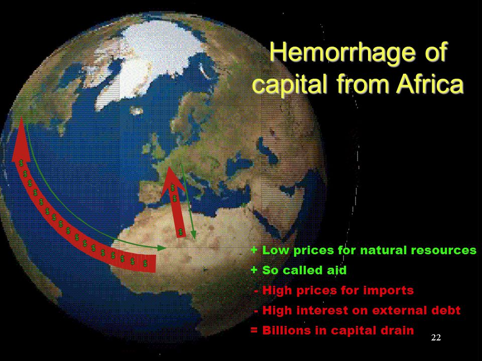 Hemorrhage of capital from Africa