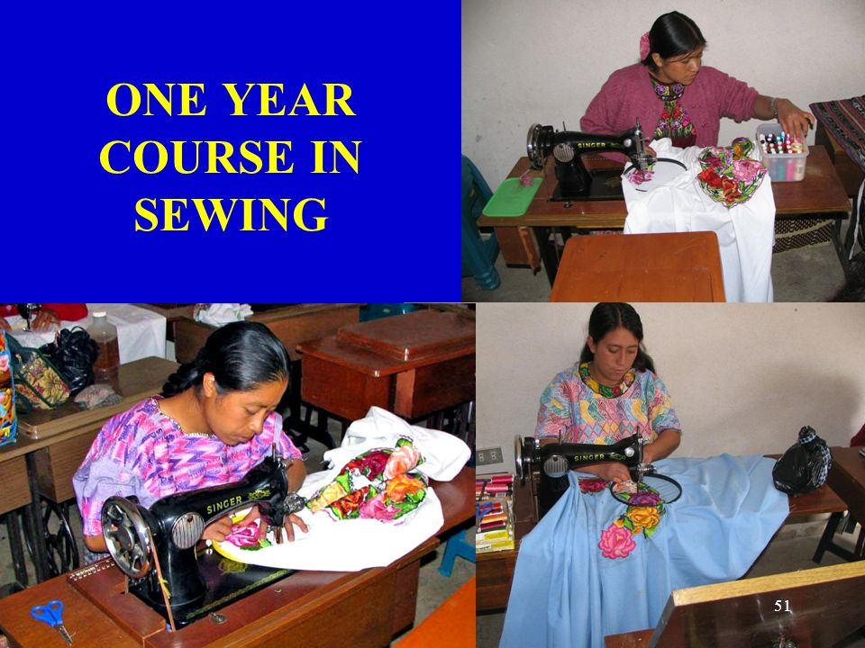 ONE YEAR COURSE IN SEWING