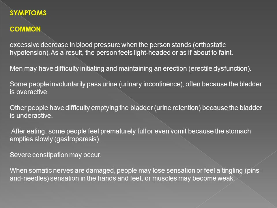 Symptoms common.