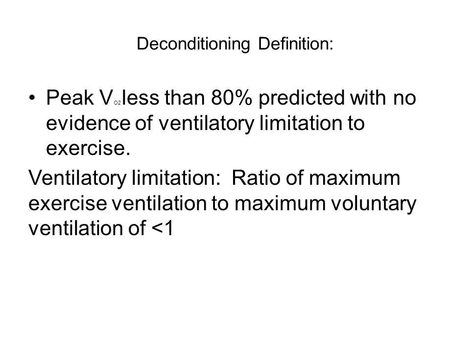Deconditioning Definition: