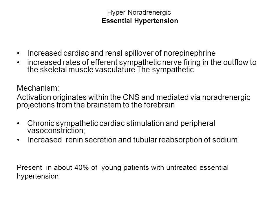 Hyper Noradrenergic Essential Hypertension