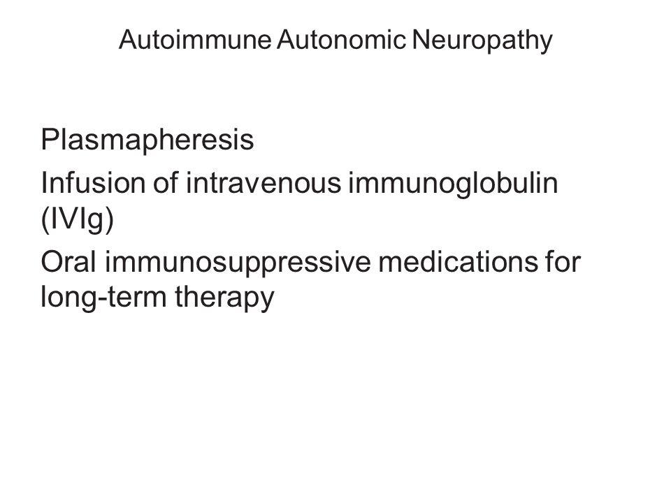 Autoimmune Autonomic Neuropathy