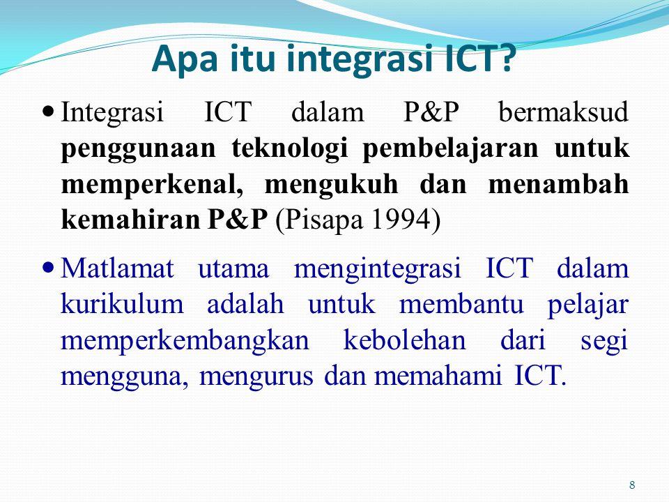 Apa itu integrasi ICT