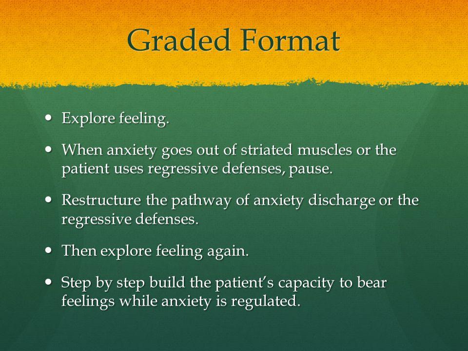 Graded Format Explore feeling.