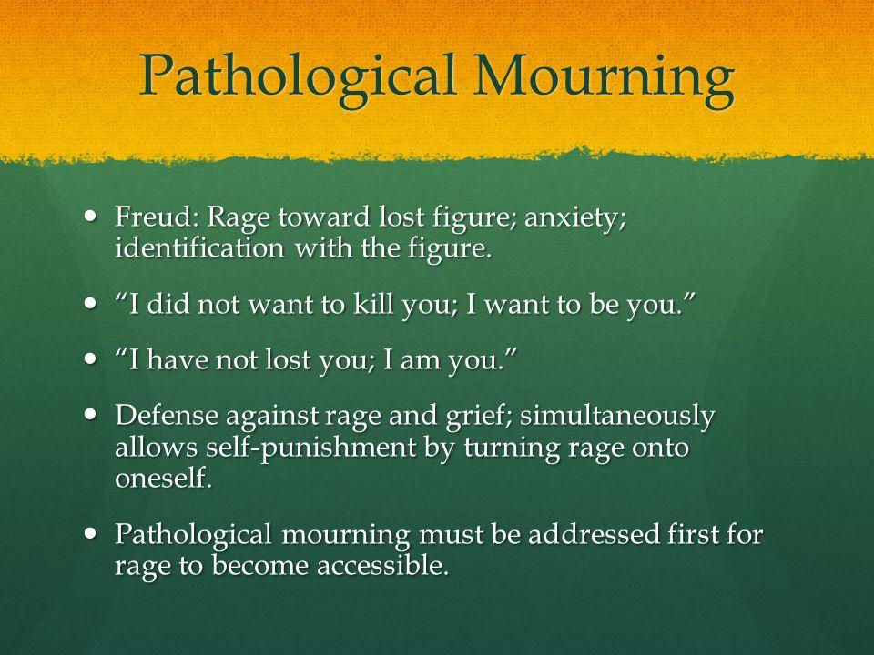 Pathological Mourning
